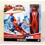Spiderman Aracno-coptero Traje Rojo Titan Hero Series