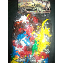 Gcg 1 Lote De 100 Dinosaurios Juguete De Plastico