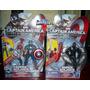 Marvel Super Soldier Gear Capitan America Y Falco Avengers