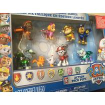 Paw Patrol Set Edición Limitada 9 Fig Patrulla Cachorros