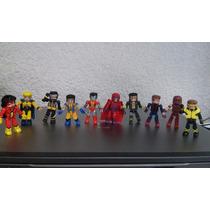Minimates Marvel Superheroes Spiderman Xmen Wolverine Oferta