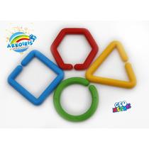 Geometrik Material Didactico Cadena Geometrica 80pzas