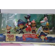 Set Original De Disney Store Jake Y Los Piratas De Nunca Jam