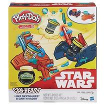 Star Wars Play-doh, Luke Sywalker Vs. Darth Vader, Brilla!!!