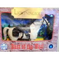 Plastimarx Johnny West Caballo Lightningbolt C/accesorios