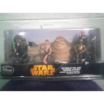 Star Wars X Paquete De 5 Figuras Rebelds Jabba Walt Disney