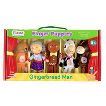 Marionetas Del Dedo Títeres - Fiesta Craft Set Gingerbread
