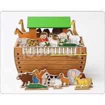 Juguetes Didácticos: Maqueta Arca De Noé Y Figuritas