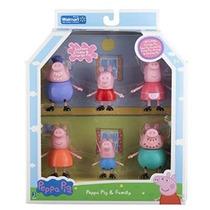 Peppa Pig Y Familia Figura Abuelo Abuelita Exclusivo Conjunt