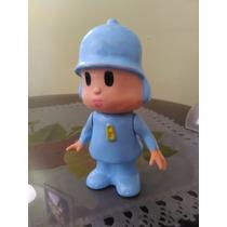 Pocoyo Figura De Plastico, Juguete Resistente De 23 Cm