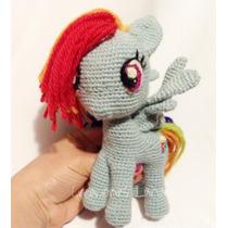 Amigurumi Pony Tejido A Mano My Little Pony