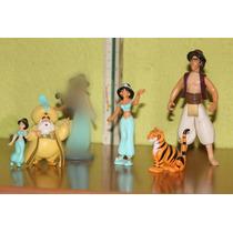 Lote De 5 Figuras De Jazmin Princesa Disney