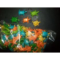 Gcg Lote De Tortugas De 2 Cm De Plastico 100 Pzas Au1