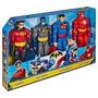 Figuras Articuladas Dc Comic´s Batman, Superman, Flash, Robi