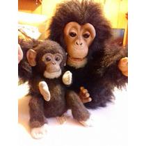 Mono Chimpancé Chango Muñeco Electrónico Furreal Colección