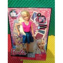 Barbie Peinados Brillantes Original De Mattel .