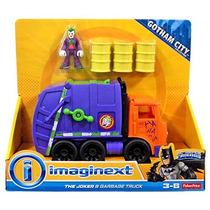 Imaginext The Joker & Camion Basura Figura Y Vehiculo