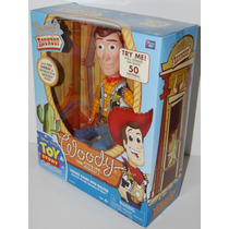 Toy Story Woody Think Way Con Certificado Original