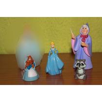Lote De 4 Figuras De Cenicienta Disney