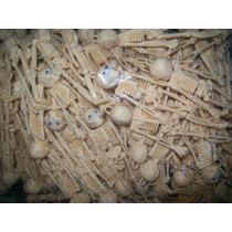 Gcg 1 Lote 100 Calaveras Esqueleto Blanco Halloween Con Ojos