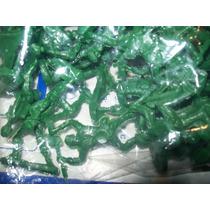 Gcg Lote Soldados Verdes 4.5 Centimetros 100 Pzas