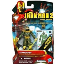 Iron Man 2 Comic Series 4 Inch Action Figure #39 Mandarin