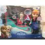 Anna Con Trineo Y Olaf Disney Frozen Juguete Exclusivo