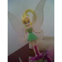 Set De 4 Figuras De Disney Tinkerbell Y Sus Amigas