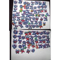 Bolsa Con 100 Mini Figuras De Disney Stitch