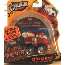Tonka Chuck & Friends Boomer Fuego Diecast Cami?n Con Dvd