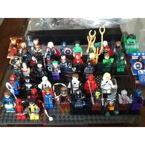 Figuras De Super Héroes Vengadores Y Liga De La Justicia