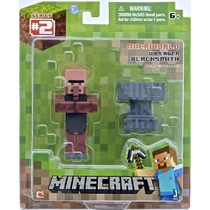 Minecraft Figure - Villager Blacksmith - Marca Mojang