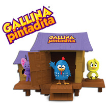 Gallina Pintadita Gallinero Musical