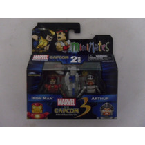 Minimates Marvel Vs Capcom 3: Ironman Vs Arthur