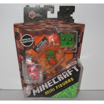 Minecraft 3 Mini Figuras