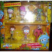 Nicktoons Set De Coleccion Padrinos Magicos Nickelodeon