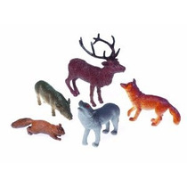 Eeuu Juguete Bosque Del Arbolado Juguete Animal Figuras Figu