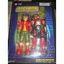 Digimon Agunimon Digivolves To Takuya 2004.