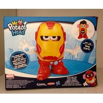 Cara De Papa Iron Man & Tony Stark Avengers Playskool Marvel