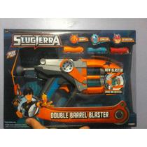 Nuevo Modelo Bajoterra 2015 Doble Blaster Grande Y Babosas