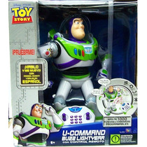 Toy Story Buzz Lightyear Control Remoto Con Luces Habla