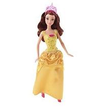 Disney Princess Sparkle Princesa Belle Muñeca