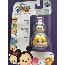 Tsum Tsum Mini Figure 3 Pack -piglet -thumper - Alice