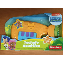 Juguete Piano Bebe Bubble Guppies Fisher Price Teclado 18m+