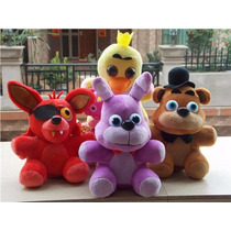 Set 4 Peluches Five Nights At Freddy