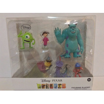 Set De Figuras Monster Inc Disney Pixar