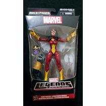 Spider-woman Marvel Legends Infinite Baf Thanos