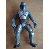 Boba Fet Figura Hasbro 2005 Mide 18 Cms