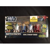 Star Wars Battle Packs Royal Starship Droids R3-n3 R2-r9