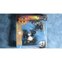 Kung Fu Panda 2 Figuras(kung Fu Panda Y El Jefe Lobo